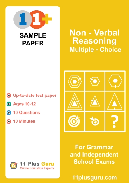 Non Verbal Reasoning Multiple Choice
